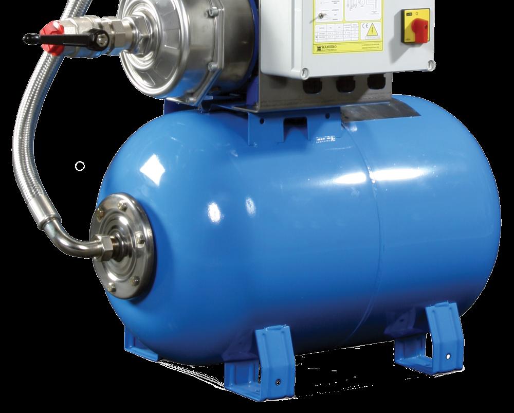 Booster set pressure vessel 2