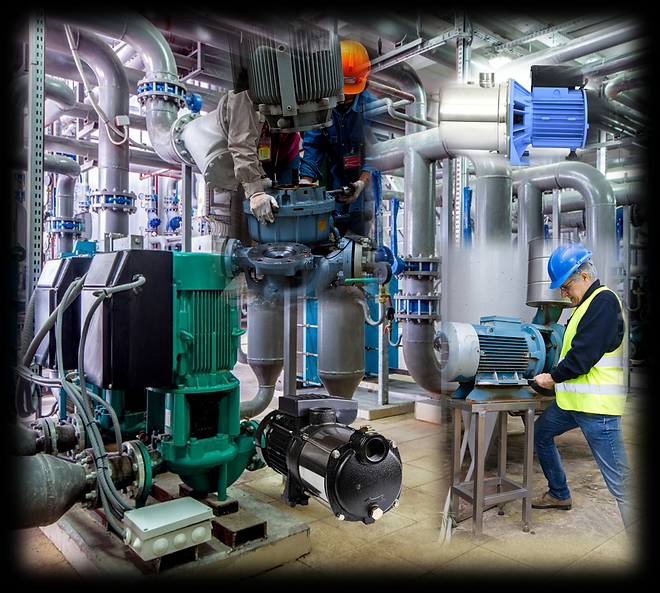 All types of pumps and applications