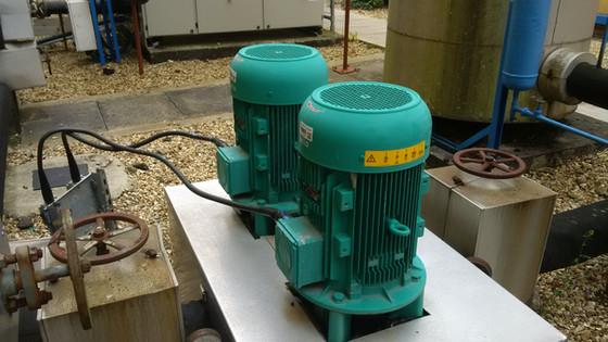 Catastrophic chiller pump failure