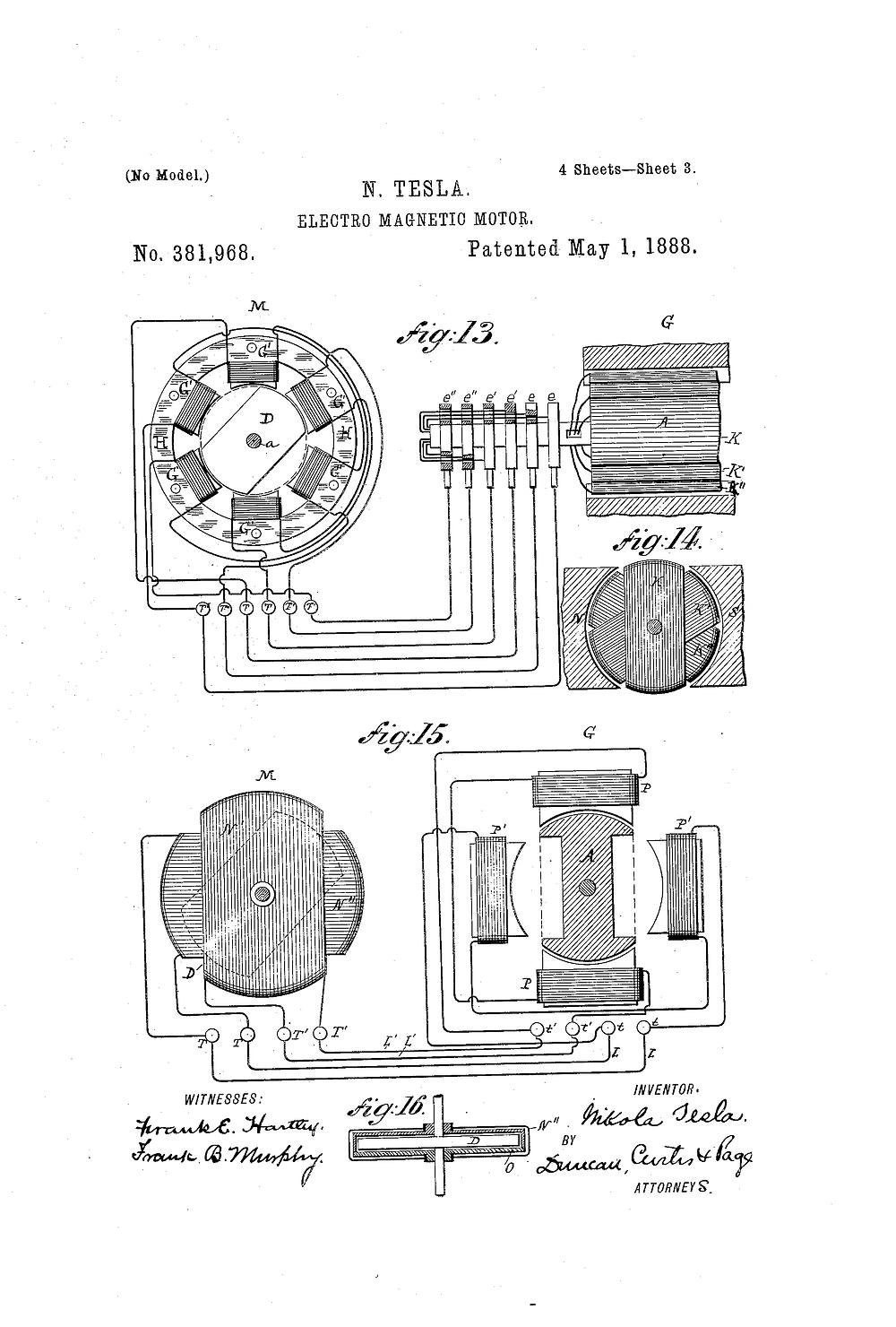 Electric pump motors