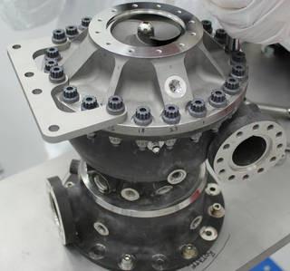 NASA 3-D printed rocket fuel pump