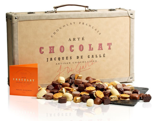 Your chance to win this chocolate-filled suitcase!