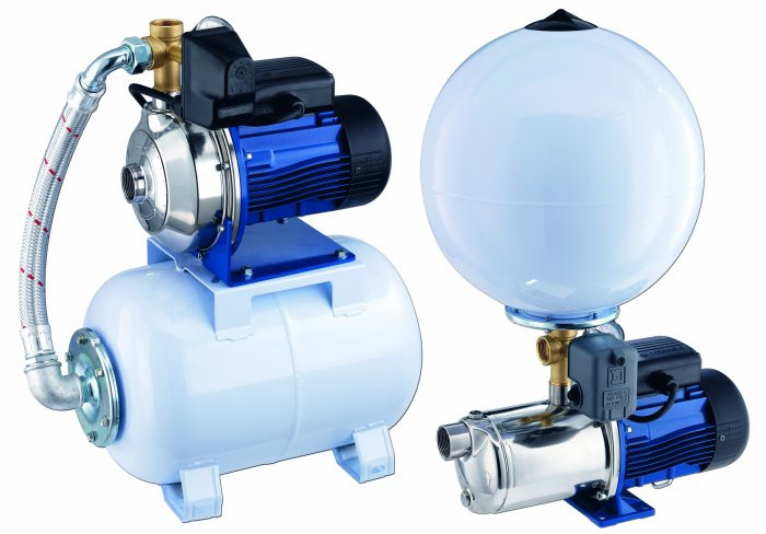 Small booster pumps