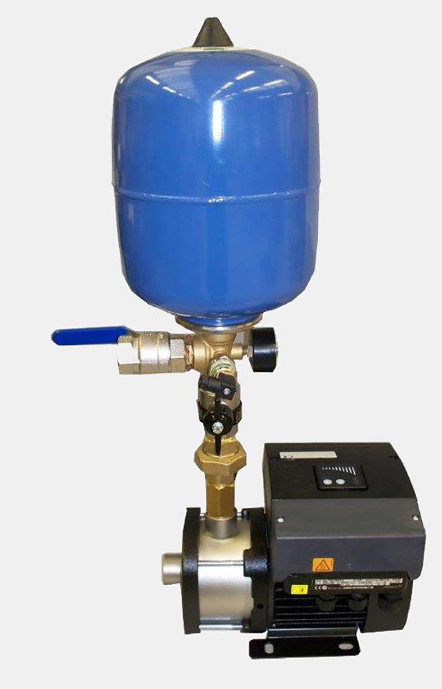 Booster set pressure vessel 1