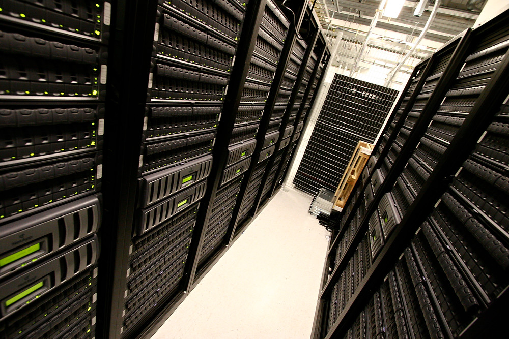 Data centres pump water for cooling