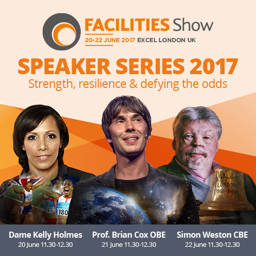 Facilities Show announces the 2017 inspirational speakers