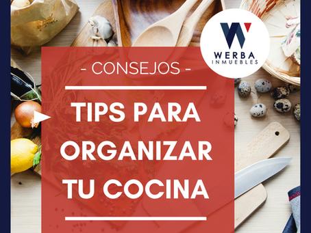 Tips para organizar tu cocina