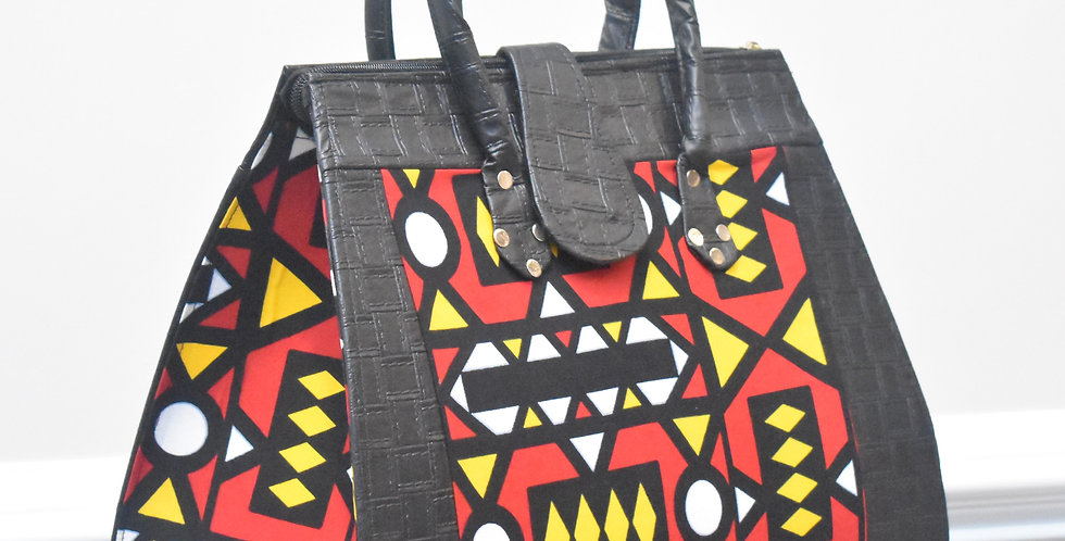 African Print Bag: Jumoke