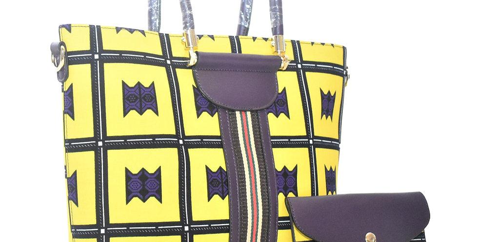 African Print Bag: Mandisa