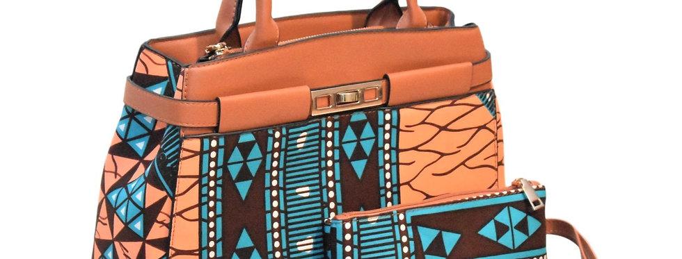 African Print Bag: Fajah