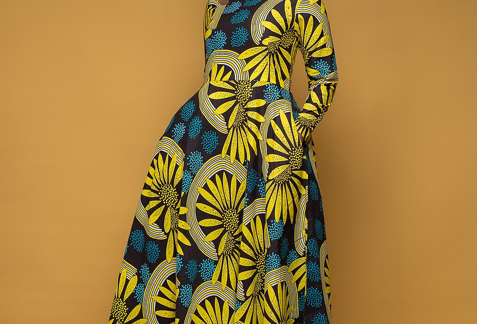 Made to Order: African Print Skirt Set #2042