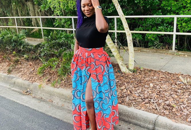 Made to Order: African Print Skirt Set #2040