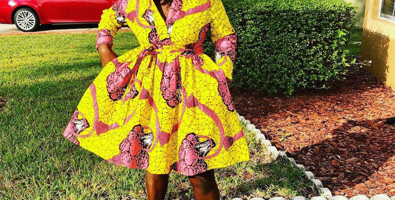 Made to Order: African Print Skirt Set #2055