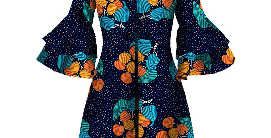 Made to Order: African Print Jacket #2038