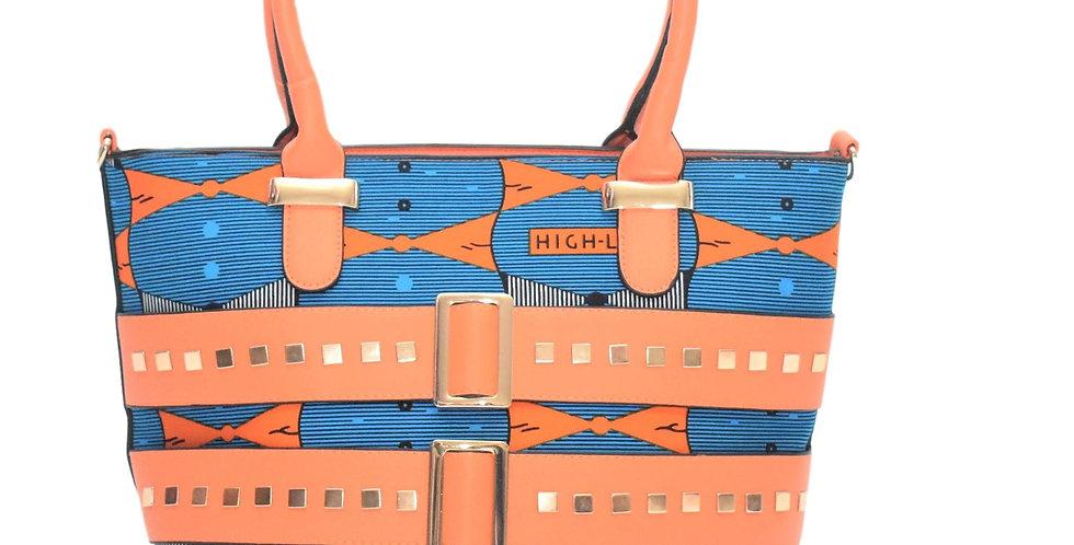 African Print Bag: Bolanle