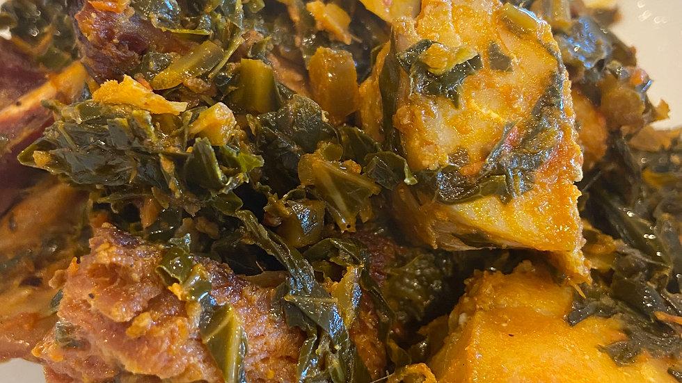 Vegetable Stew (Efo Riro)