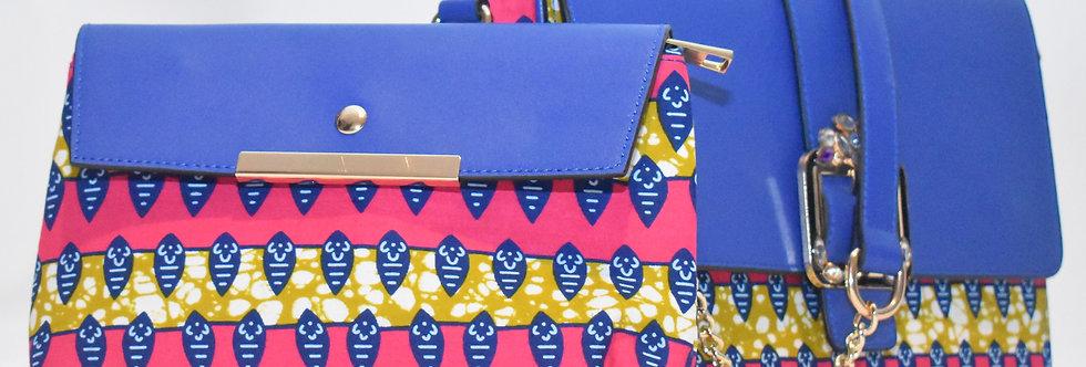 African Print Clutch Bag: Fayola