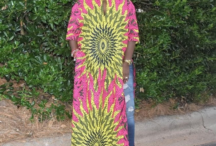 Made to Order: African Print Dress #2028