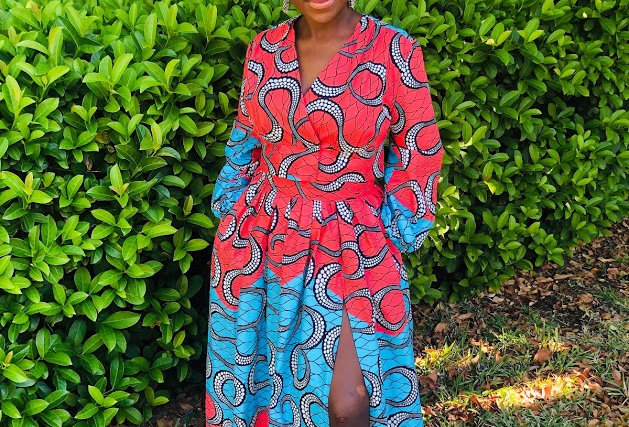 Made to Order: African Print Skirt Set #2041