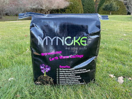 MyNoke® Black Gold Earthworm Castings / Vermicast in 10 or 17 litre bags from