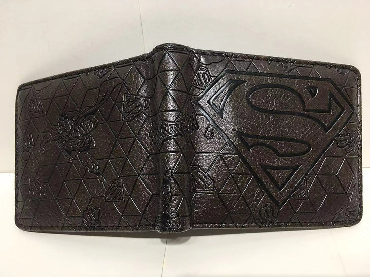 SuperMan Bifold Wallets! High Quality!