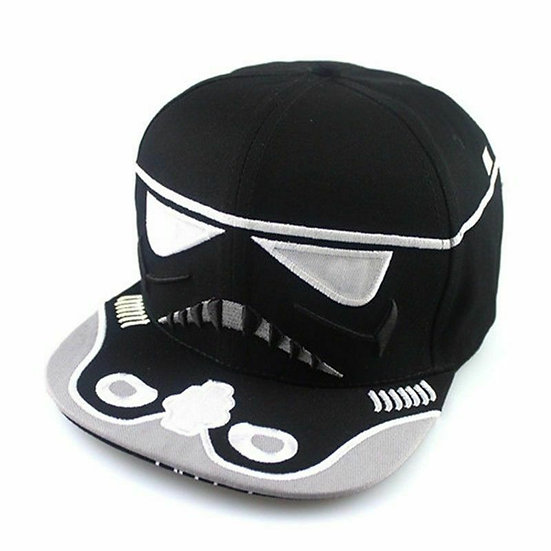 Star Wars Storm Trooper Snapback Hat! High Quality!