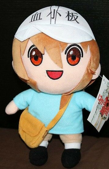 Cells at Work Platelet Anime Soft Toy! Plush!