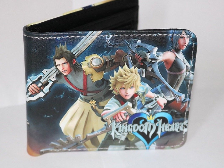 Kingdom of Hearts Anime Wallets! Bifold Wallets! High quality!
