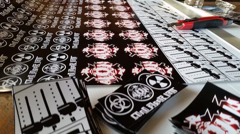 Sticker Printer Unit