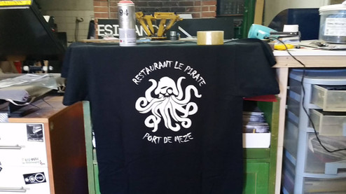 Tee-shirt Restaurant LE PIRATE