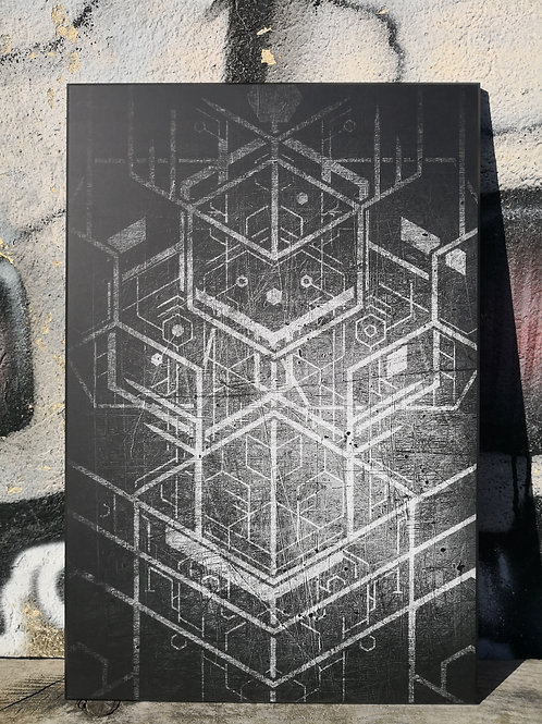 Print sur bois 10mm TOTEM DARK