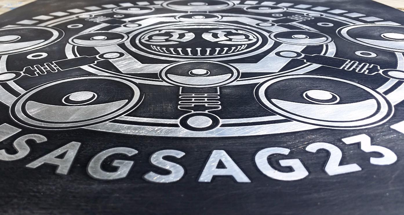 Plaque SAGSAG23