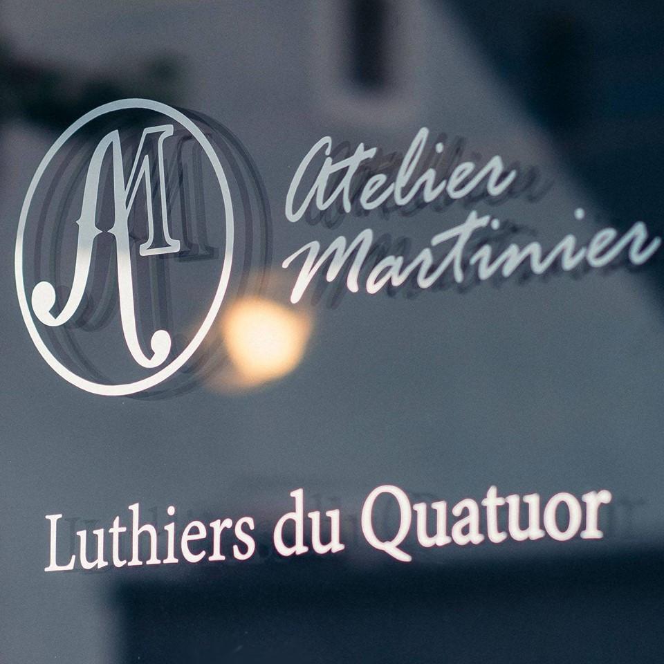 Sticker Vitrine Atelier Martinier