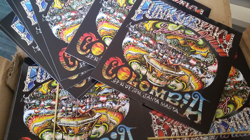 Stickers Funky Freaky Festival
