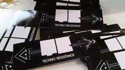 stickers Techno Resistance