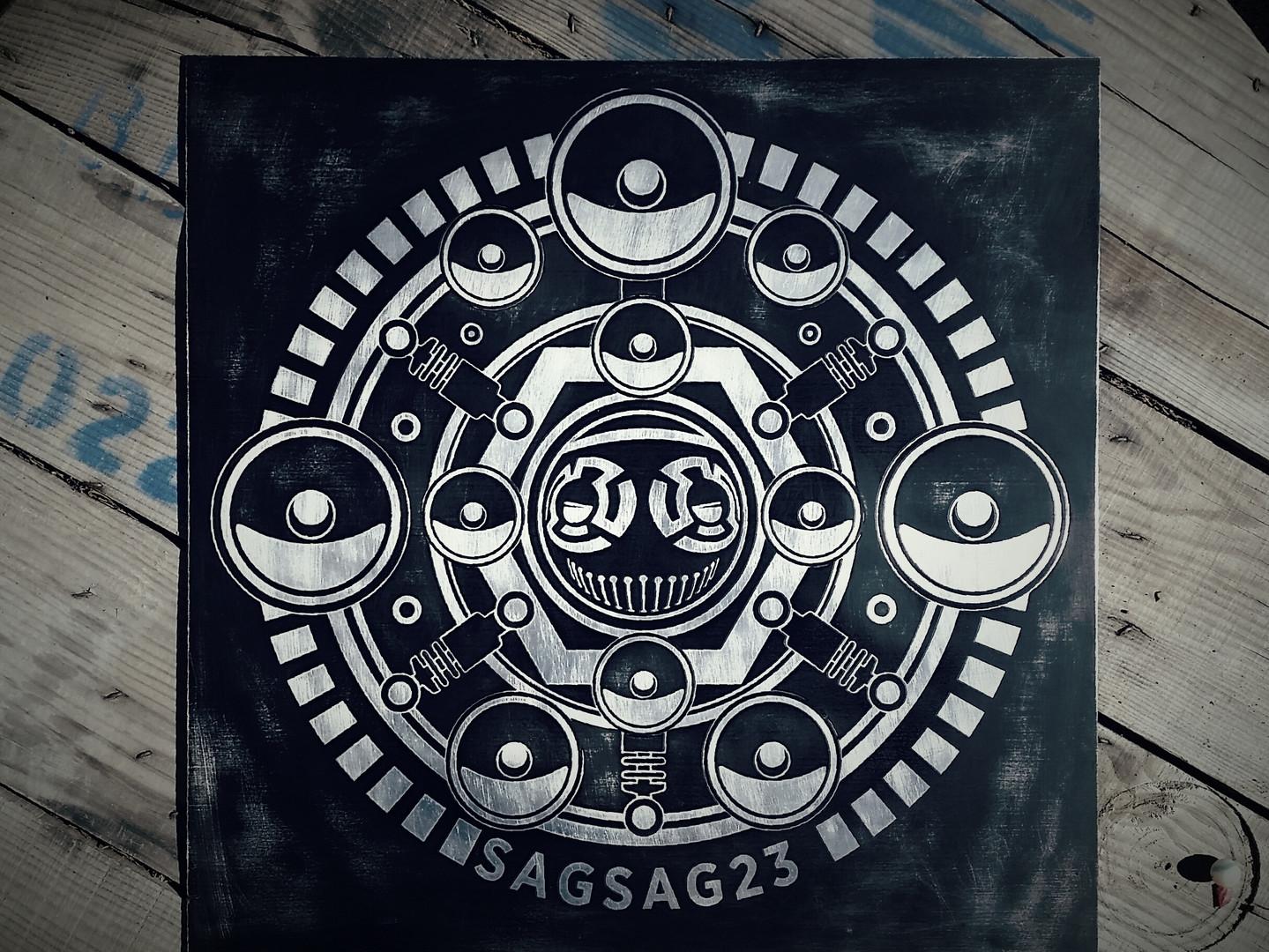 Plaque Sagsag 23
