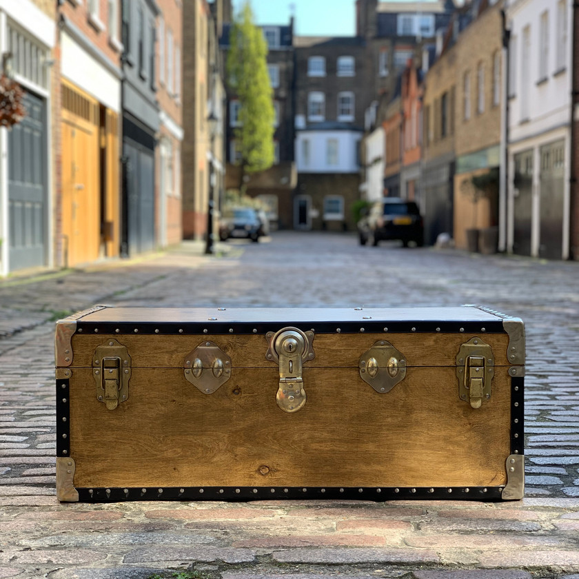 Vintage Travel Trunk | Nº10 Studio Furniture Rental l in London
