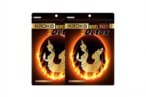 泰國Kroko Navel Paste  美人魚排毒暖宮肚臍貼5片裝