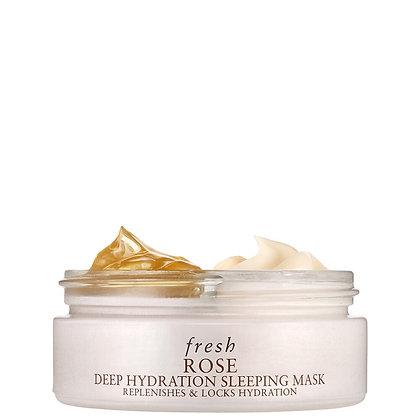 Fresh Rose Deep Hydration Sleeping Mask 玫瑰深層保濕睡眠面膜 2*35ML
