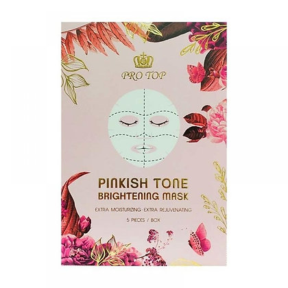 Pro Top Pinkish Tone Brightening Mask 少女精醇面膜5片
