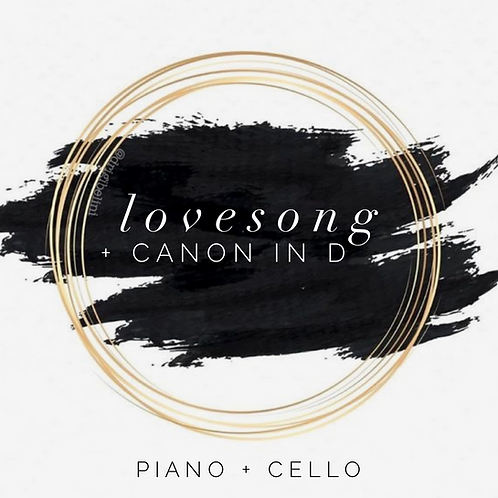"""Lovesong + Canon in D"" - Digital Song Download"