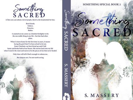 SOMETHING SACRED Cover & Blurb Reveal