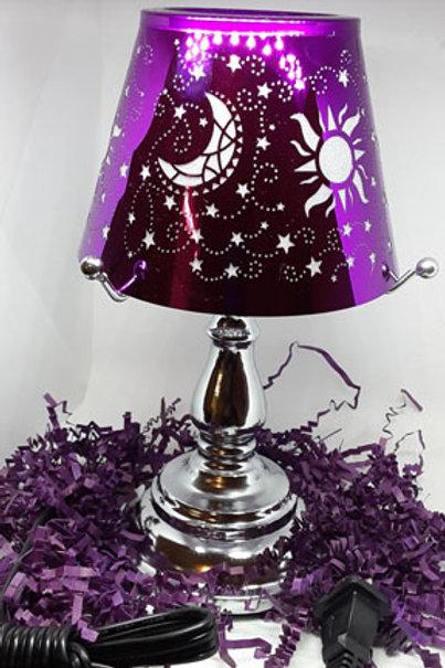 TOUCH LAMP PURPLE OIL LAMP