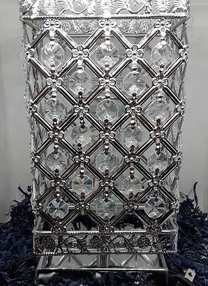 CHANDLER SILVER TOUCH LAMP