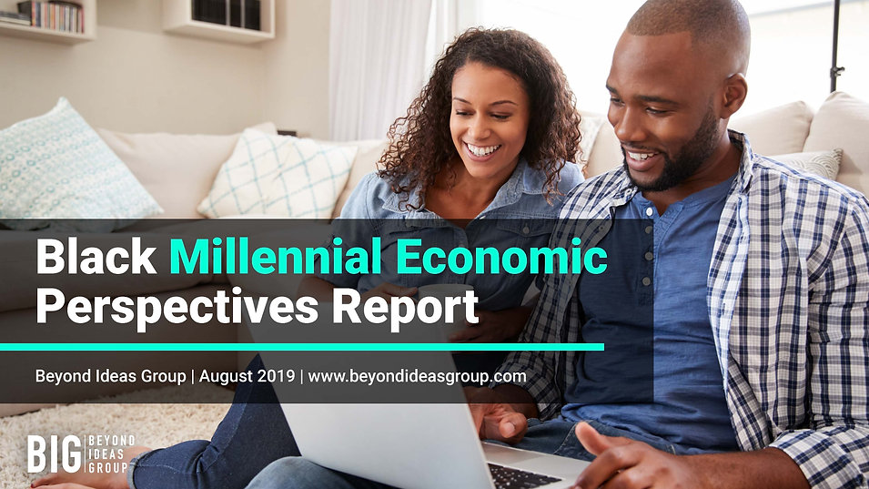 BIG - Black Millennial Economic Survey R