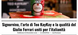 Teo KayKay Custom Champagne