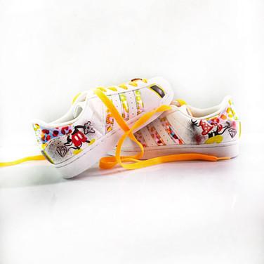 Teo KayKay Custom Snekaers \\ Superstars