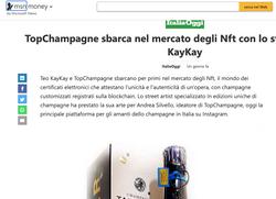 Teo KayKay NFT Champagne MSN