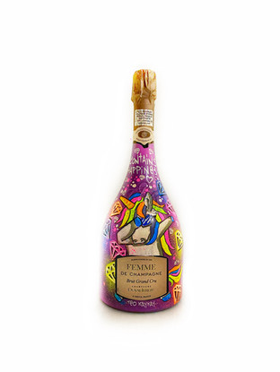 Teo KayKay Duval Leroy Femme De Champagne Custom Unicorn