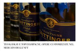 Teo KayKay NFT Champagne